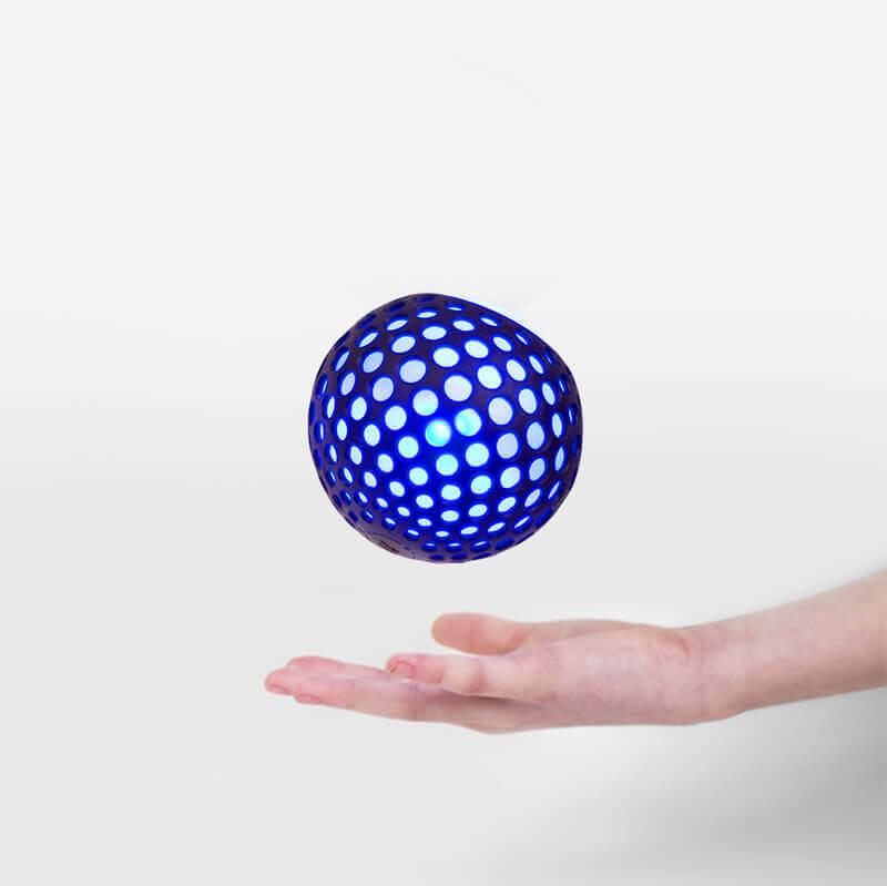 Large throwing ball crop