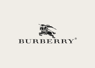 Block burberry logo block