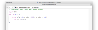 Exploring Swift with Playgrounds – Made by Many